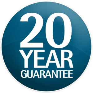 aluminium double glazing 20 year guarantee