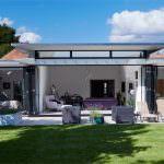 aluminium bi-fold doors Hailsham