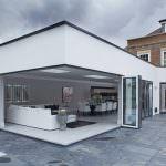aluminium corner doors Horsham