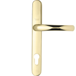 Aluminium door handle - gold