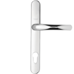 Aluminium door handle - Silver