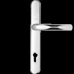 Aluminium door handle - Silver
