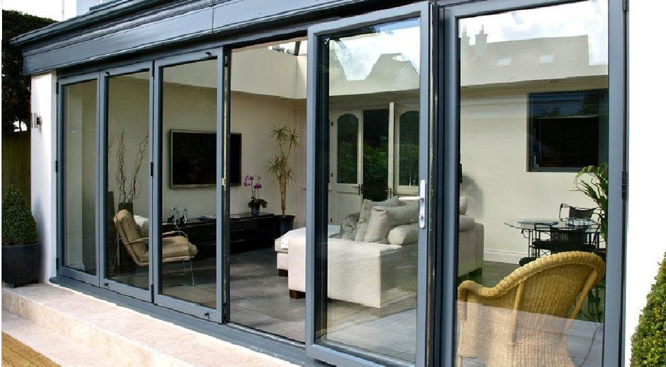 aluminium bi fold doors hailsham