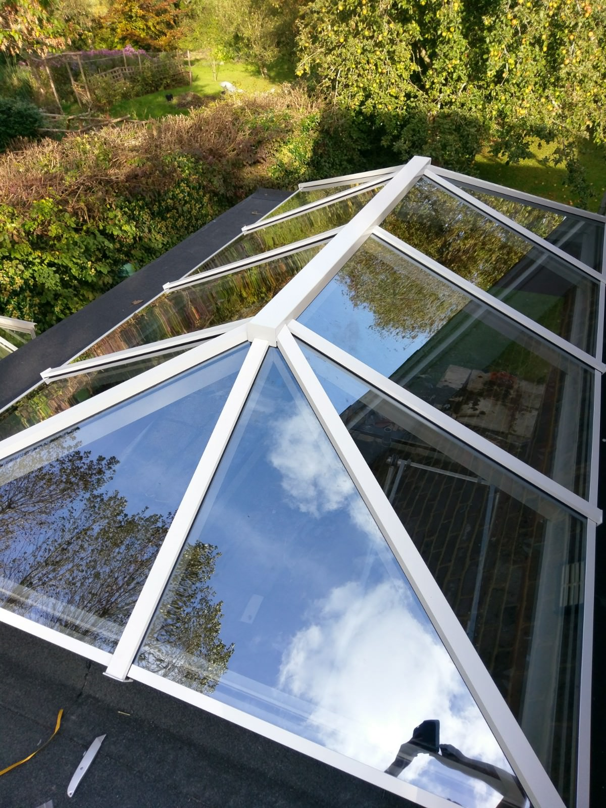 Finished Project - Aluminium Sky Roof Lantern West Sussex