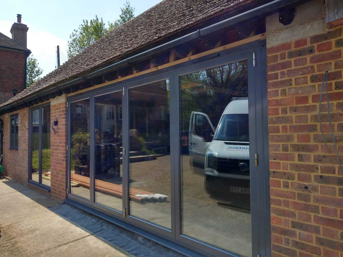Aluminium Bi-Fold Door Installations, East Sussex