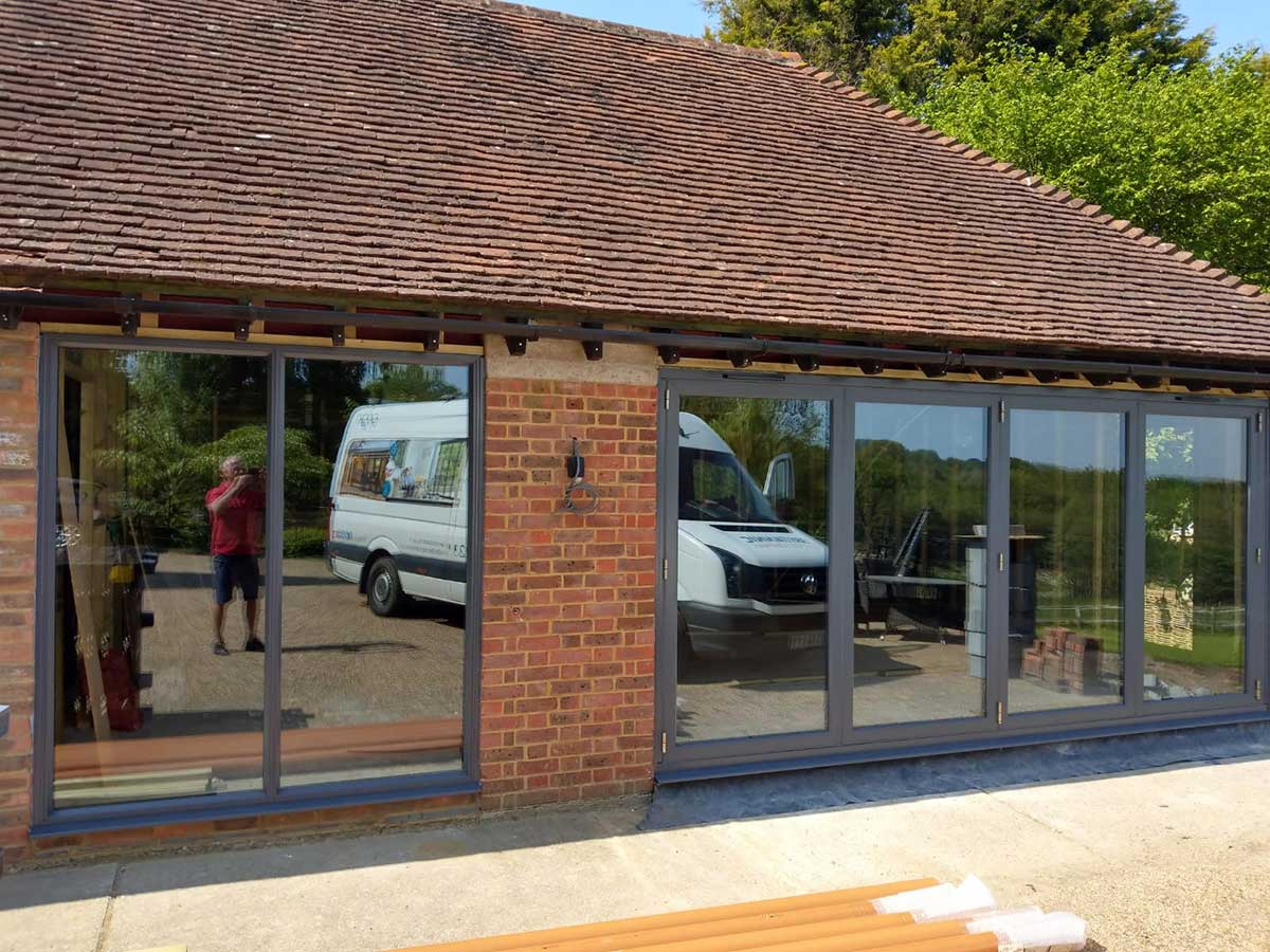 Fully Installed Aluminium Windows,