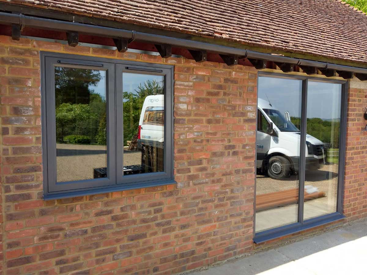 Slimline Aluminium Windows and Doors Installation, Broad Oak, East Sussex