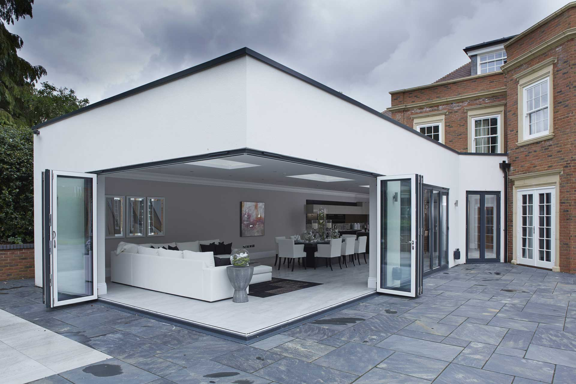 aluminium bi-folding doors east sussex