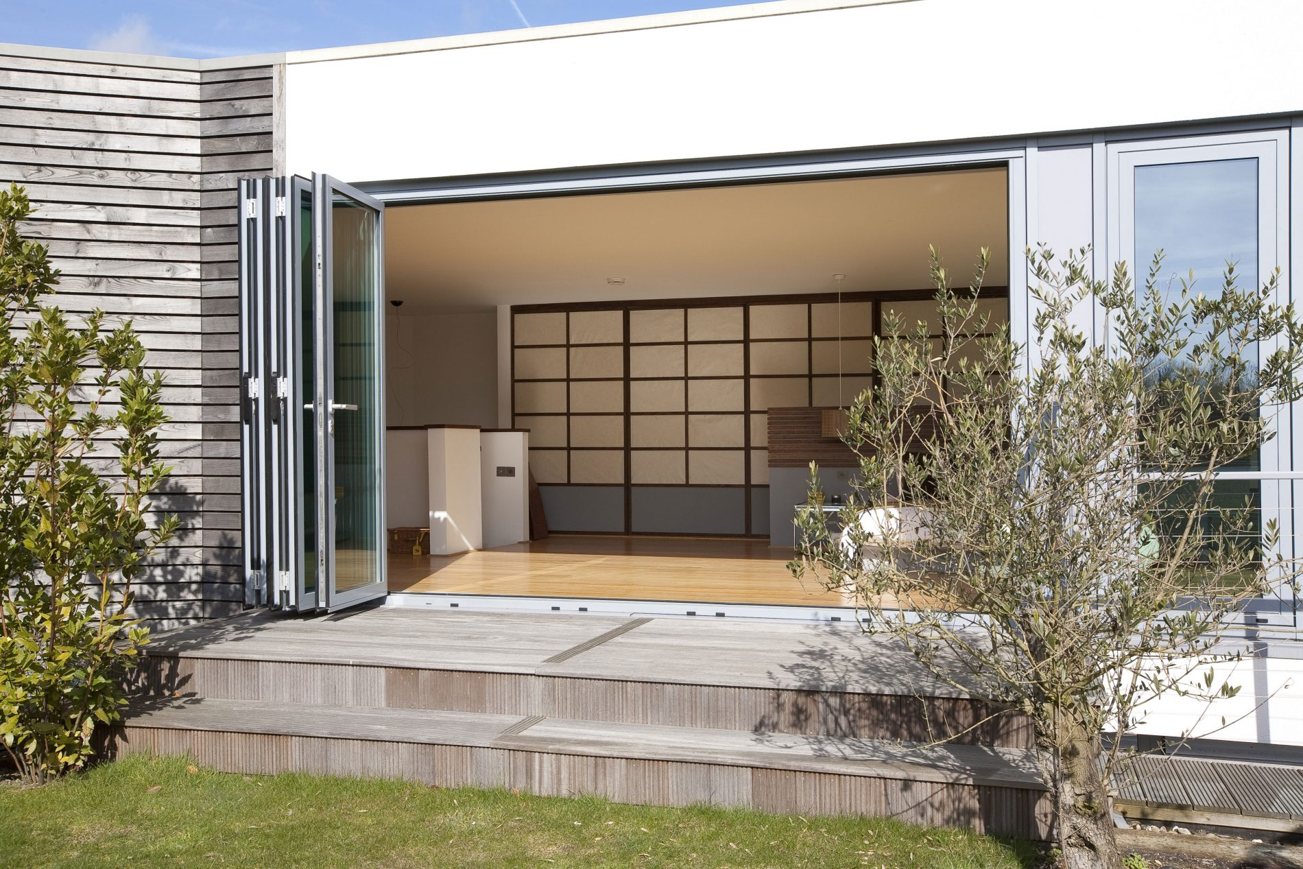 aluminium bi-fold doors, East Grinstead