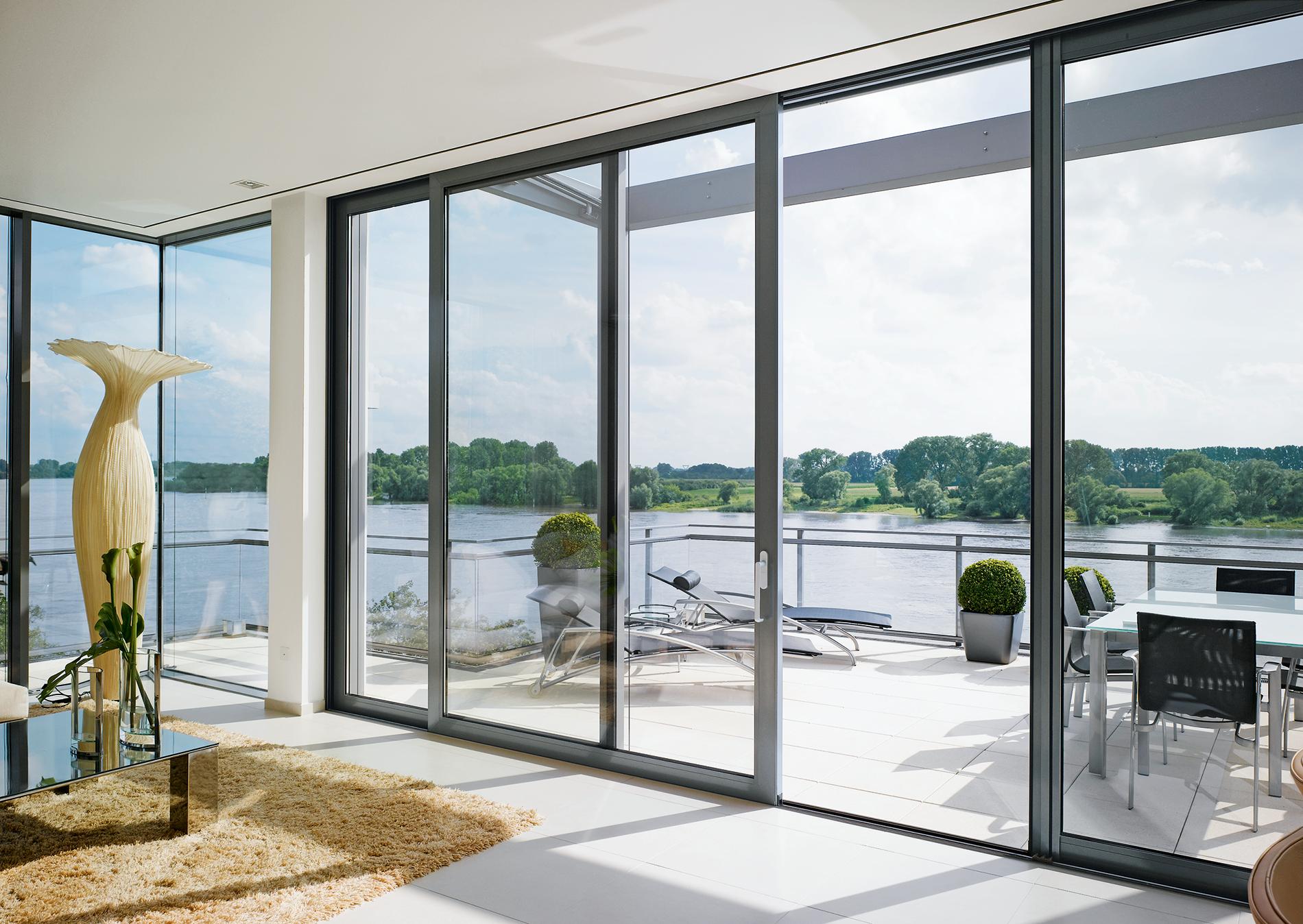 double glazed aluminium doors horsham