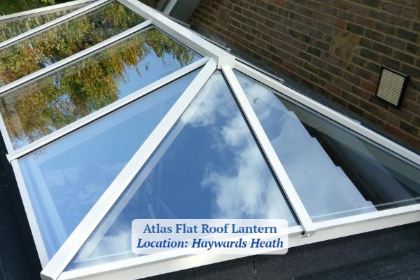 Aluminium Roof Lantern Installation Sussex
