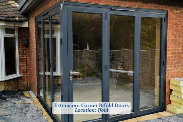 Corner Bifold Doors Company Ifold Sussex